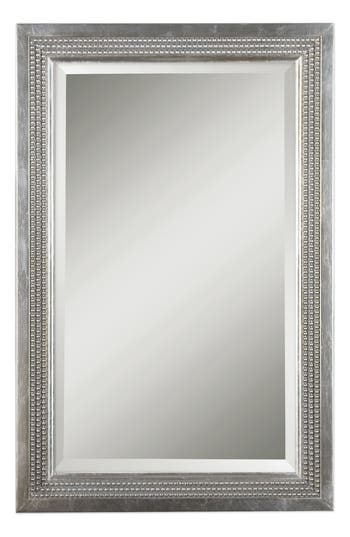 Uttermost Triple Beaded Vanity Mirror, Size One Size - Metallic
