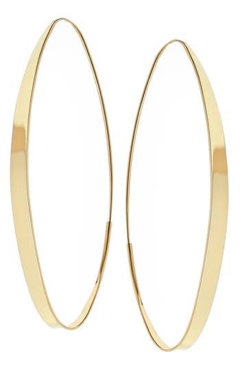 Women's Lana Jewelry Large Narrow Gloss Magic Hoops