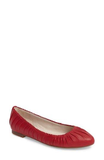Louise Et Cie Ashlin Ballet Flat- Red