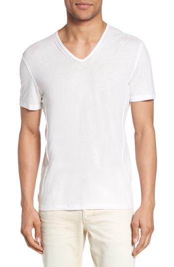 John Varvatos Star Usa V-Neck T-Shirt, White