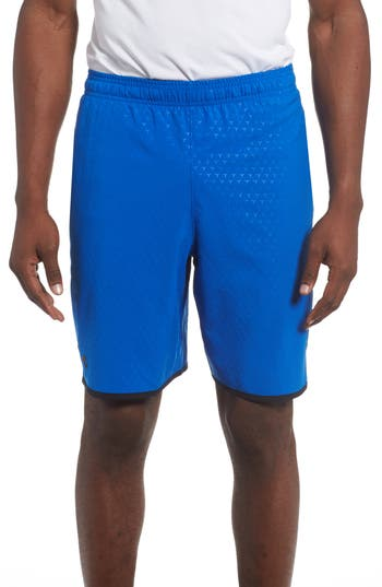 Under Armour Qualifier Training Shorts, Blue