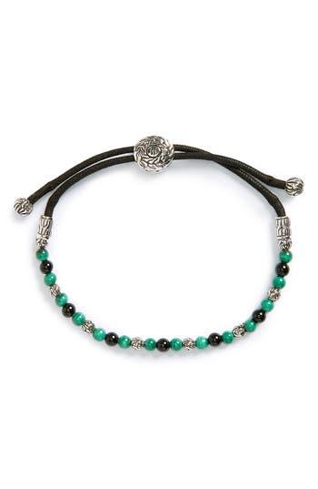Men's John Hardy 'Classic Chain' Beaded Friendship Bracelet
