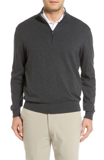 Cutter & Buck Lakemont Half Zip Sweater, Grey
