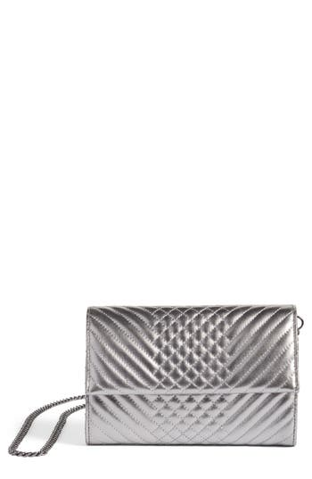 Vince Camuto Fayna Foldover Clutch - Metallic