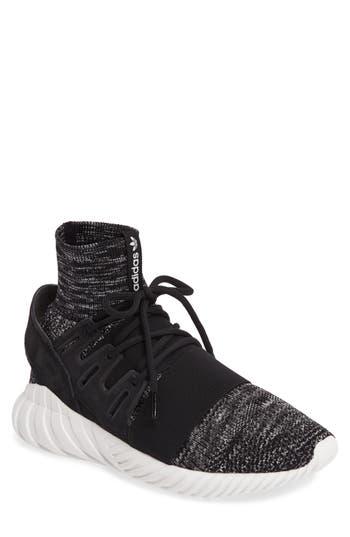Adidas Tubular Doom Primeknit Sneaker- Black
