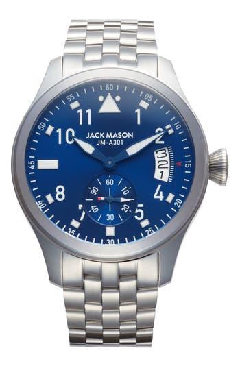 Jack Mason Aviation Bracelet Watch, 45Mm