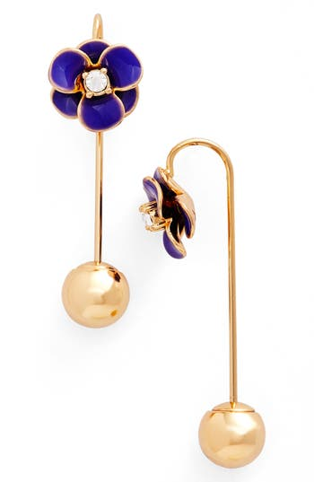 Women's Kate Spade Flower Hanger Drop Earrings