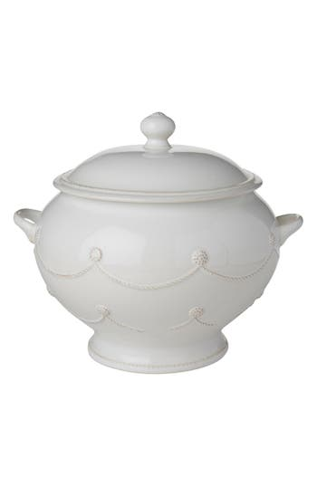 Juliska Berry & Thread Ceramic Soup Tureen, Size One Size - White
