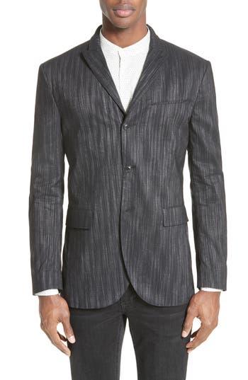John Varvatos Collection Slim Fit Sport Coat, Black
