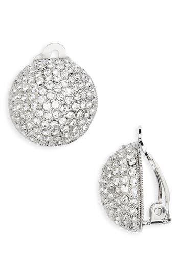 Women's Nina Clip Crystal Earrings