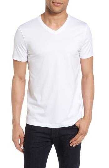 Boss V-Neck T-Shirt, White