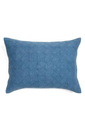 Nordstrom At Home Garment Wash Sham, Size Standard - Blue/green