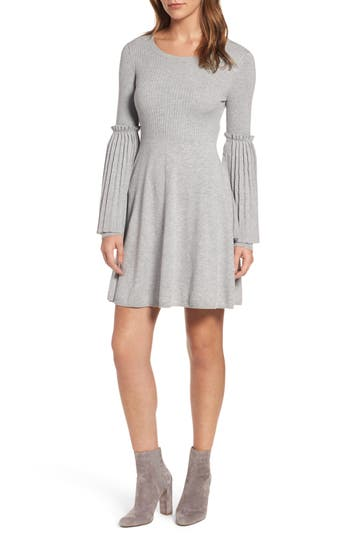 Chelsea28 Bell Sleeve Sweater Dress