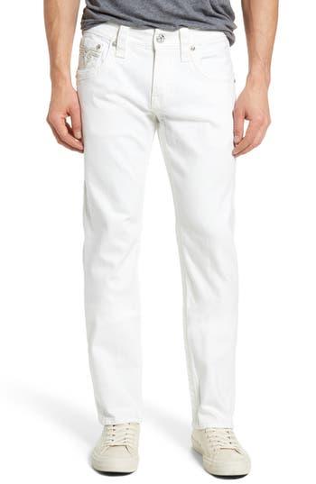 Rock Revival Straight Leg Jeans, White