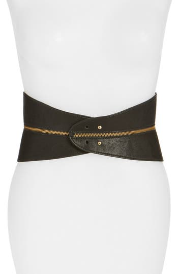 Women's Raina Leather Corset Belt at NORDSTROM.com