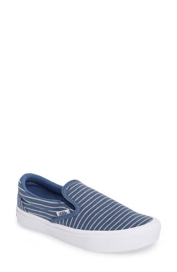 Vans Authentic Lite Stripe Slip-On Sneaker