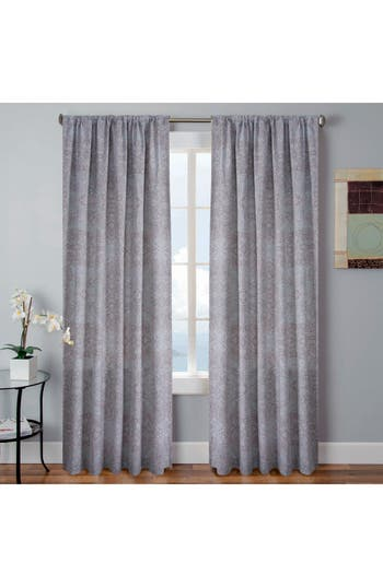 Vera Tarah Window Panels, Size One Size - Grey