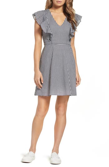 Women's Charles Henry Fit & Flare Dress