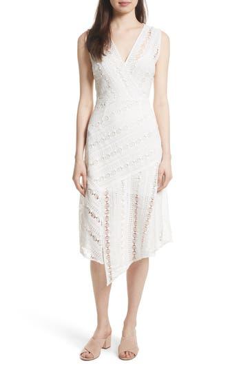 Tracy Reese Lace Midi Dress, White