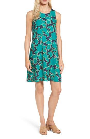 Petite Halogen A-Line Dress, Blue