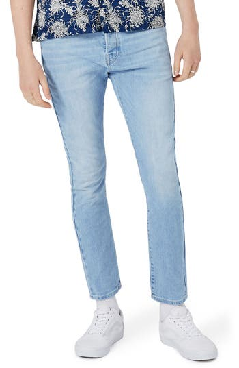 Men's Topman Stretch Tapered Fit Jeans
