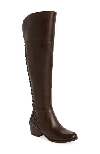 Vince Camuto Bolina Over The Knee Boot, Wide Calf- Brown