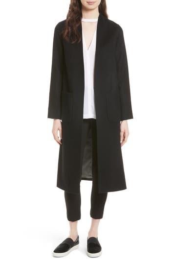 Women's Helene Berman Wool & Cashmere Longline Coat