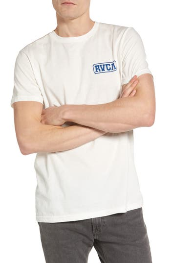 Rvca Suzuki Sign Graphic T-Shirt, White