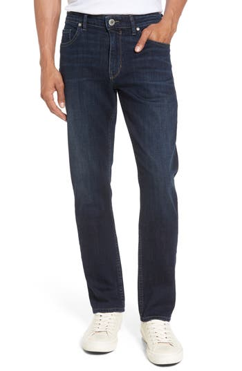 Paige Lennox Slim Fit Jeans, Blue