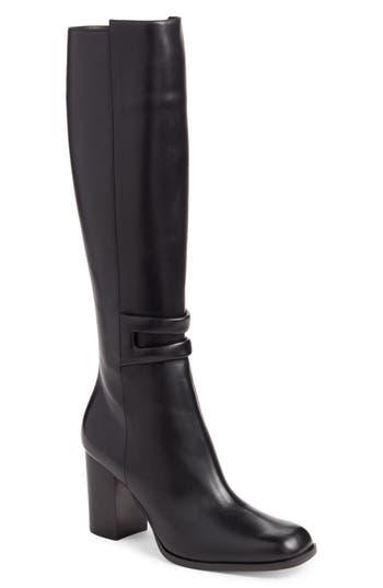 Women's Loewe Knee High Boot, Size 36 EU - Black