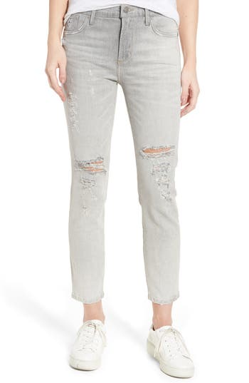 Agolde Sophie High Waist Skinny Jeans, Grey