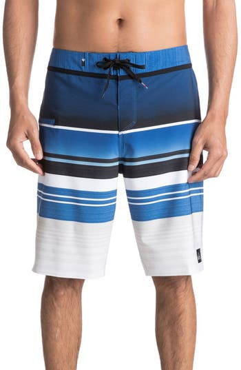 Quiksilver Everyday Stripe Board Shorts, Black