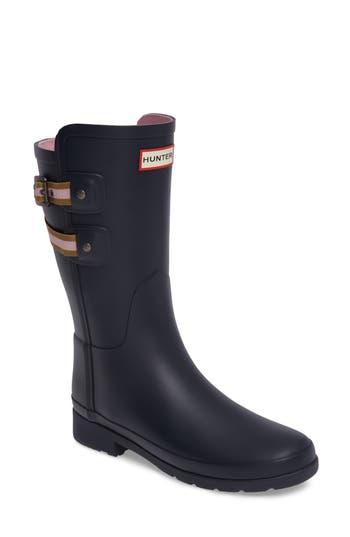 Hunter Original Refined Short Rain Boot, Blue