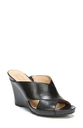 Naturalizer Bianca Wedge Mule- Black