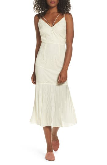 Cooper St Papara Lace Midi Dress, Ivory