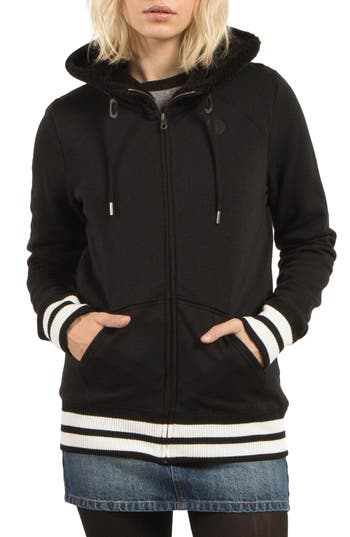Volcom Good One Hoodie, Black
