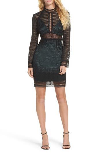 Bardot Bey Lace Dress, Green