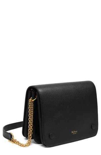 Women's Mulberry Clifton Leather Wallet On A Chain -