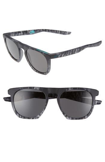 Nike Flatspot 52Mm Sunglasses - Matte Grey Tortoise