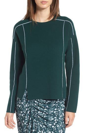 Women's Lewit Double Knit Cashmere Blend Pullover