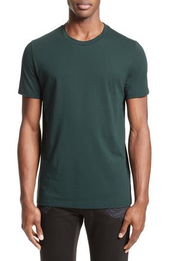 Versace Collection Medusa Foil Back T-Shirt, Green