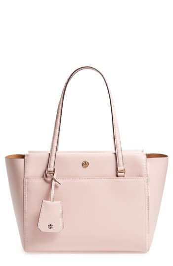 Tory Burch Small Parker Leather Tote - Pink