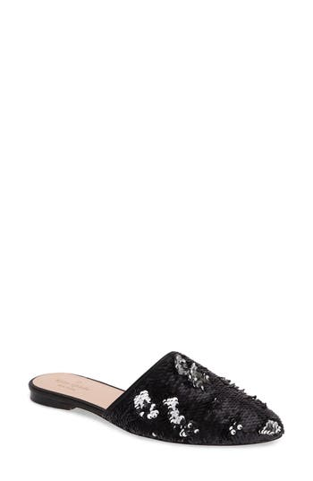 Kate Spade New York Embellished Mule, Black