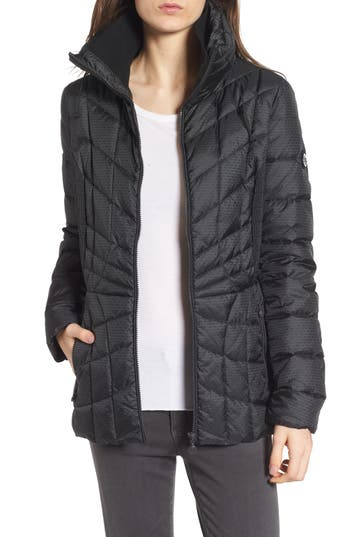 Bernardo Down & Primaloft Coat, Black