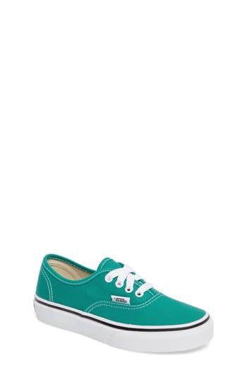 Boy's Vans Authentic Sneaker, Size 4 M - Blue