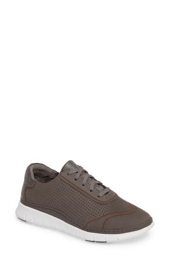 Vionic Fresh Riley Perforated Sneaker, Grey