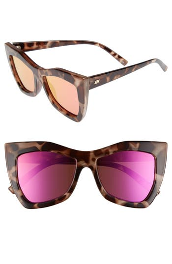 Le Specs Kick It 5m Sunglasses - Milky Tortoise