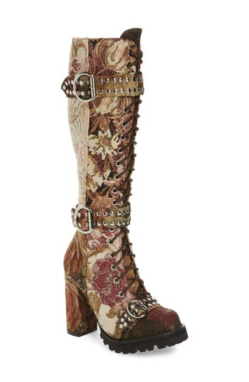 Jeffrey Campbell Lilith Tall Boot- Brown