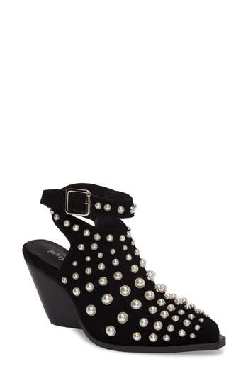 Jeffrey Larkin Embellished Bootie- Black