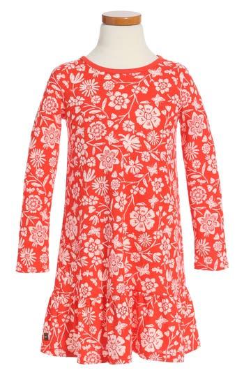 Girl's Tea Collection Holly Drop Waist Dress